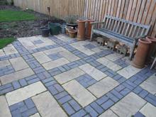 Hard Landscape for New House – using reject bricks (0910)