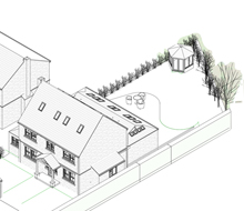 Estate House Supersized into the 21st Century (1517)