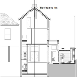 Raise the Roof PD after rear & side extensions (2027)