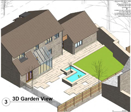 Open Kitchen to garden in a Conservation Area (2042)