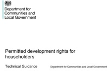 Permitted Development for Householders – Technical Guidance (2019)